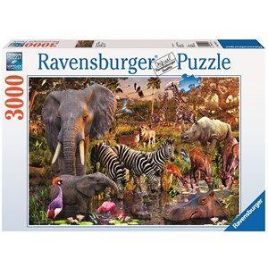 Ravensburger Afrikaanse Dierenwereld Puzzel (3000 stukjes)