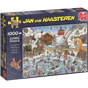 Jumbo Jan van Haasteren - De Winterspelen Puzzel (1000 stukjes)