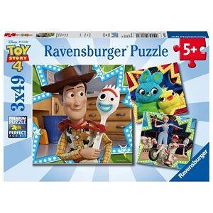 Ravensburger Toy Story 4 - Puzzel (3x49 stukjes)