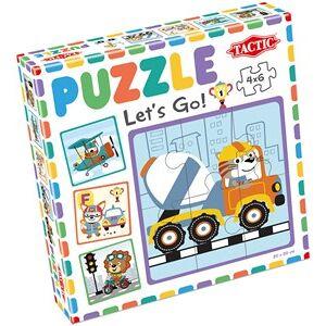 Tactic My First Puzzle - Let's Go! (4x6 stukjes)