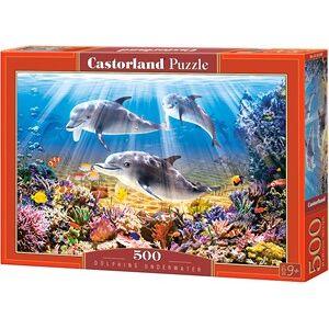Castorland Dolphins Underwater Puzzel (500 stukjes)