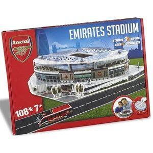 Kick Off Games Arsenal - Emirates Stadium 3D Puzzel (108 stukjes)