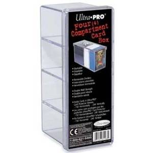 Ultra Pro Cardbox Perspex Clear 240 Cards