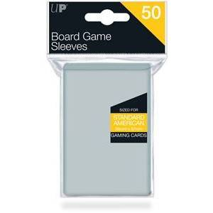 Ultra Pro Board Game Sleeves - Standard American (56x87 mm)