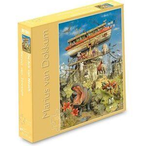 ART Marius van Dokkum - De Ark van Noach Puzzel (100 stukjes)