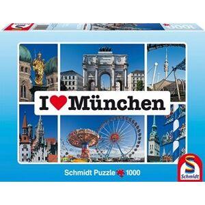 Schmidt I Love Munchen Puzzel