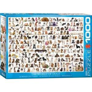 Eurographics The World of Dogs Puzzel (1000 stukjes)