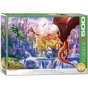 Eurographics Dragon Kingdom Puzzel (500 XL stukjes)