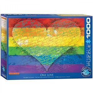 Eurographics One Love Puzzel (1000 stukjes)