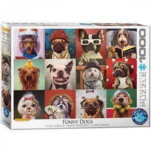 Eurographics Funny Dogs Puzzel (1000 stukjes)
