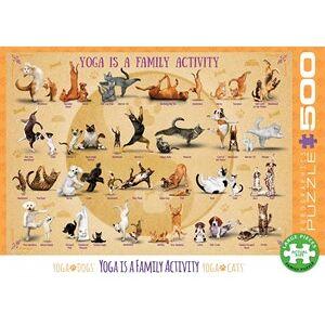 Eurographics Yoga is a Family Activity Puzzel (500 XL stukjes)