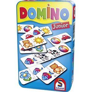 Schmidt Domino Junior in tin box pocketeditie