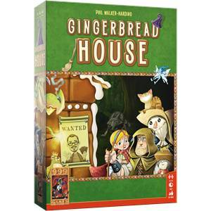 999 Games Gingerbread House