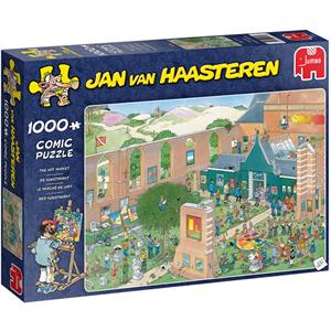 Jumbo Jan van Haasteren - De Kunstmarkt Puzzel (1000 stukjes)