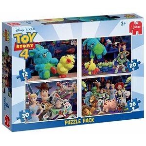 Jumbo Disney Toy Story 4 - 4 in 1 Puzzel (12, 20, 30 en 36 stukjes)