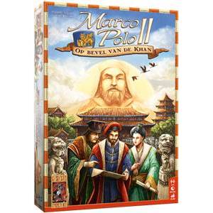 999 Games Marco Polo II: Op bevel van de Khan - Bordspel