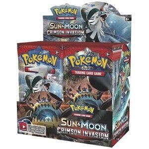 Pokémon Pokemon Sun & Moon Crimson Invasion - Boosterbox