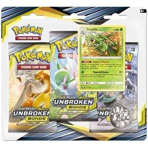 Pokémon Pokemon Sun & Moon - Unbroken Bonds Boosterblister