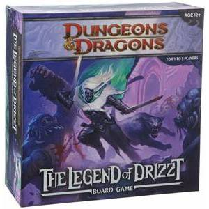 Wizards of the Coast Legend of Drizzt Boardgame