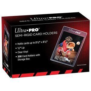 Ultra Pro Semi-Rigid Card Holders - Lip Sleeves (200 stuks)