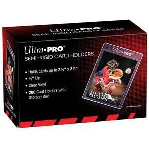 Ultra Pro Semi-Rigid Card Holders - Lip Sleeves (200 stuks)