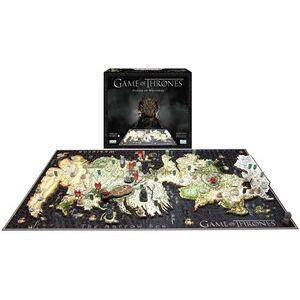 Cityscape 4D Puzzle - Game of Thrones (1500 stukjes)