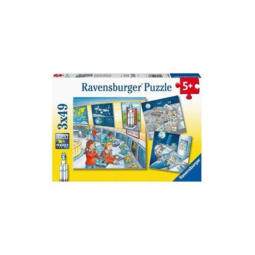Ravensburger Op Ruimtevaartmissie met Tom en Mia Puzzel (3 x 49 stukjes)