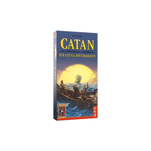 999 Games Catan - Piraten & Ontdekkers 5/6 spelers