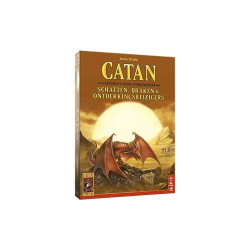 999 Games Catan - Schatten, Draken & Ontdekkingsreizigers