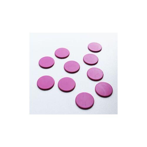 Spellenrijk Spel Fiches 22mm Roze (10 stuks)