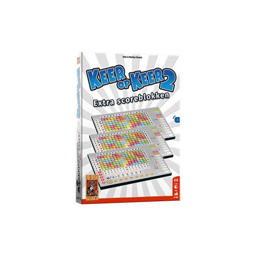 999 Games Keer op Keer 2 - Scoreblok Level 1 (3 stuks)