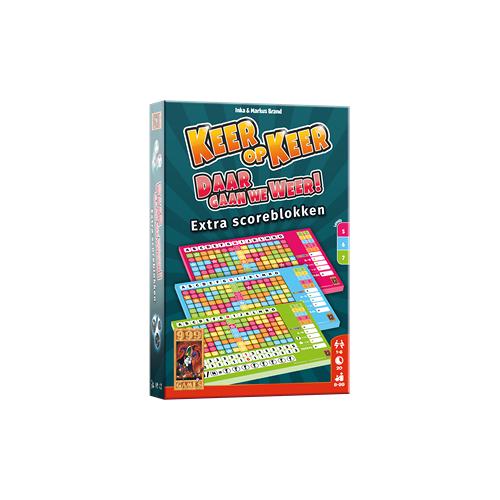 999 Games Keer op Keer - Scoreblok Level 5/6/7 (3 stuks)