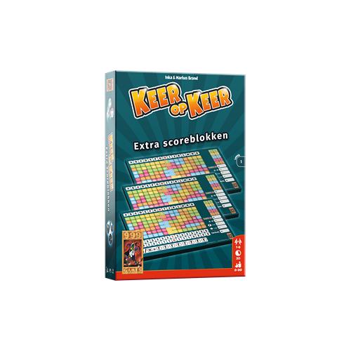 999 Games Keer op Keer - Scoreblok Level 1 (3 stuks)