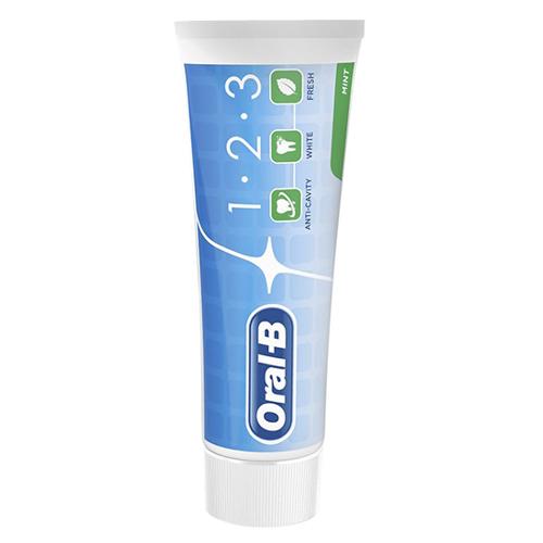Oral-B 1-2-3 Mint Tandpasta 75ml