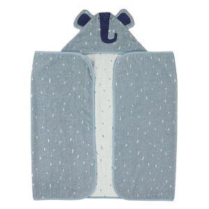 Trixie Plaids Hooded towel , 70x130cm - Mrs. Elephant Blauw