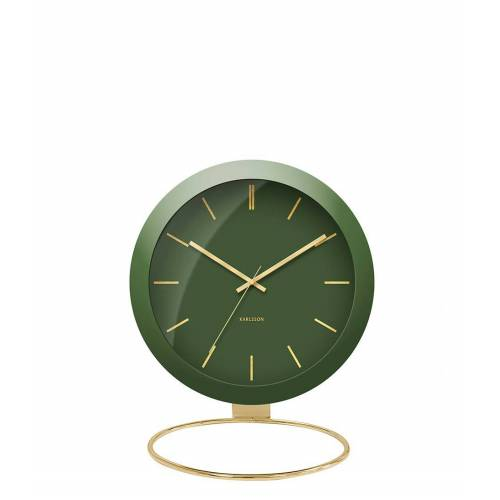 Karlsson Tafelklokken Table clock Globe Design Armando Breeveld Groen