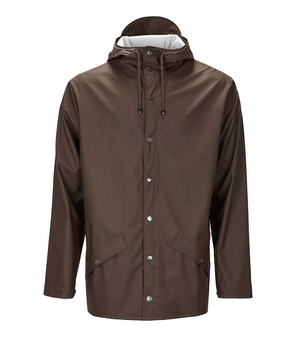 Rains Regenjassen Jacket Bruin