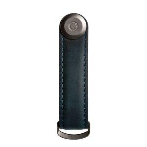 Orbitkey Sleutelhangers Leather Orbitkey 2.0 Premium Blauw