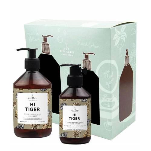 The Gift Label Verzorgingsproducten Hi tiger set
