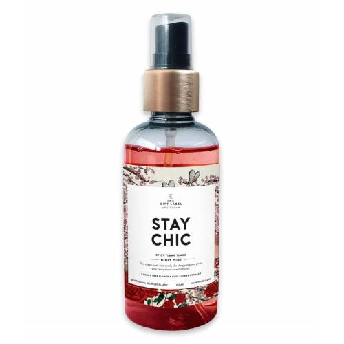 The Gift Label Verzorgingsproducten Body mist Stay chic