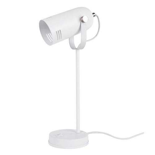Leitmotiv Tafellampen Table lamp Husk iron Wit