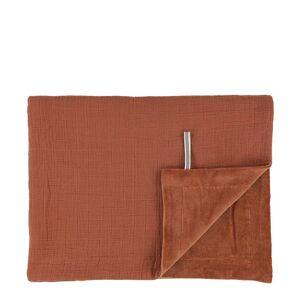 Les Reves d Anais Plaids Fleece blanket 100x150cm Oranje