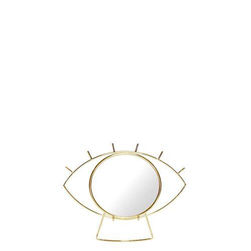 DOIY Decoratieve objecten Cycloop Tafelspiegel Goudkleurig