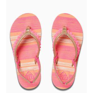 Reef Slippers Little Pom Pom Roze