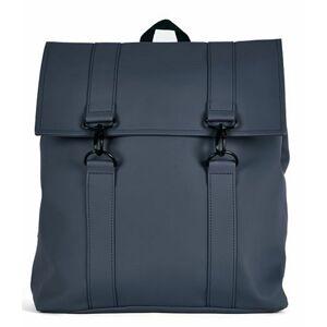 Rains Schooltas Msn Bag 15 Inch Blauw