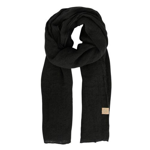 Zusss Sjaals Basic Sjaal Zwart