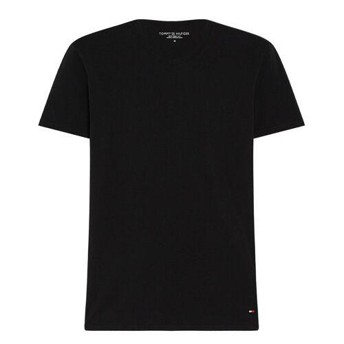 Tommy Hilfiger T-shirts Stretch VN Tee SS 3P Zwart
