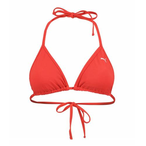 Puma Bikinis Triangle Bikini Top Rood