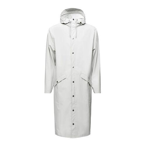 Rains Regenjassen Longer Jacket Wit