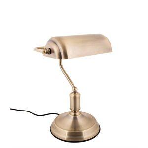 Leitmotiv Tafellampen Table lamp Bank iron Goudkleurig